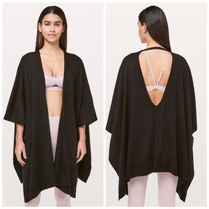Lululemon Free To Coast Wrap one size black